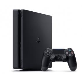 Sony PlayStation 4 Slim 500GB - PS4 Jet Black Console