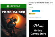 Buy only £25.00 the latest Tomb Raider Xbox one Video Game