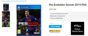 Buy the Latest Pro Evolution Soccer 2019 PS4 at £29.00 by G14mes